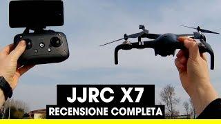 JJRC X7 (C-FLY) SMART Recensione completa [Unbox / Setup /Prova di volo / Funzioni smart] - TomTop