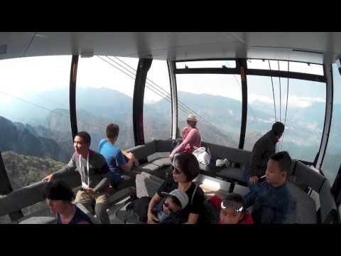 Fansipan Legend Cable Car Ride. Mount Fansipan, Sapa Vietnam