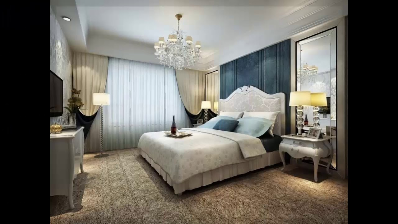 luxus schlafzimmer design youtube. Black Bedroom Furniture Sets. Home Design Ideas