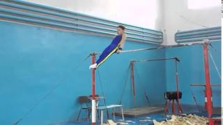 Спортивная гимнастика. Перекладина. Gymnastics. Crossbar.