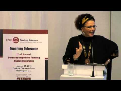 Keynote by Lisa Delpit (Teaching Tolerance 2012)