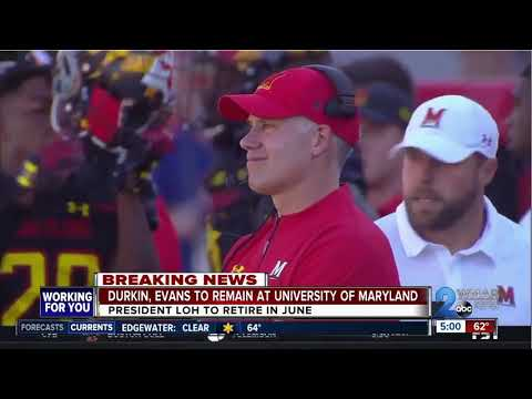 University of Maryland football coach, athletic director stay, school president to retire in June