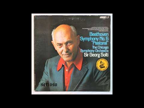 Beethoven, Symphony No  6, 1,2mov,  Sir Georg Solti, Chicago Symphony Orchestra