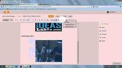 Intro to Blogger: Inserting Multimedia