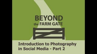 Introduction to Photography -  Part 2
