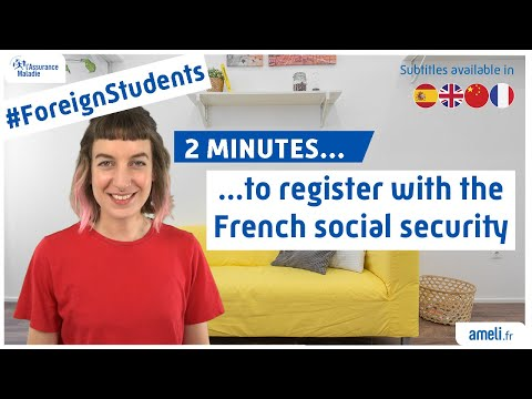 Foreign Students : 2 Minutes To Register With The French Social Security