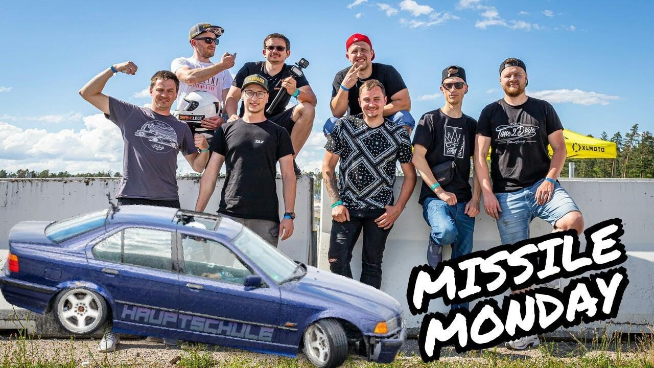 MISSILE MONDAY mit TAZ, Time2Drive, nelegal.garage, DriftingLELE und Drift.Crime
