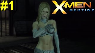 X-Men Destiny PS3 Gameplay #1 [Damn Emma Frost! What