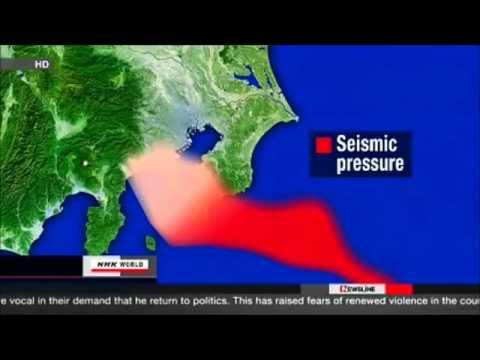Japanese officials forecast LARGE Tokyo earthquake, fukushima goes wild (3) Reload mp4