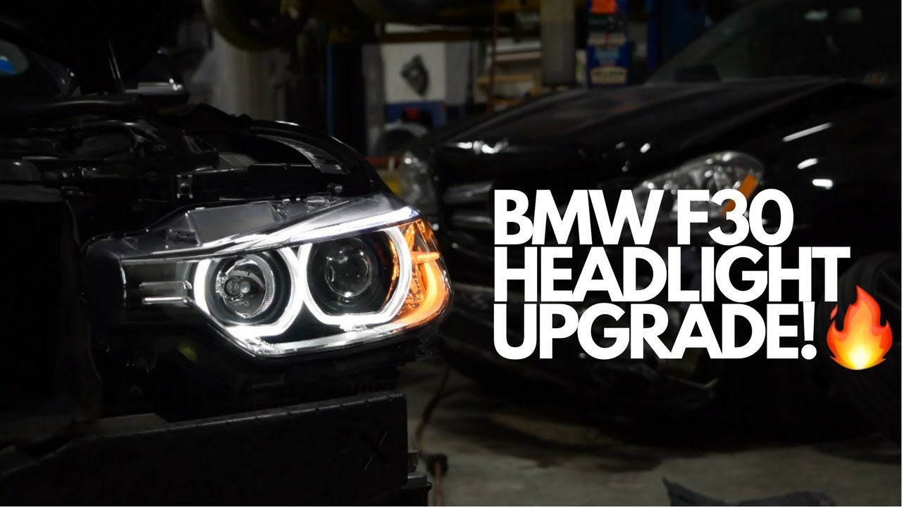 Bmw 328i Depo Angel Eyes Install From Usr F30 Youtube