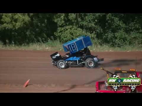 8 2 14 360 Sprints Qualifying @ Cottage Grove Speedway