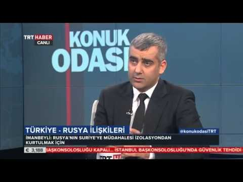 ŞEHİR Öğretim Üyesi Vügar İmanbeyli TRT Haber'de Türkiye - Rusya İlişkilerini Değerlendirdi