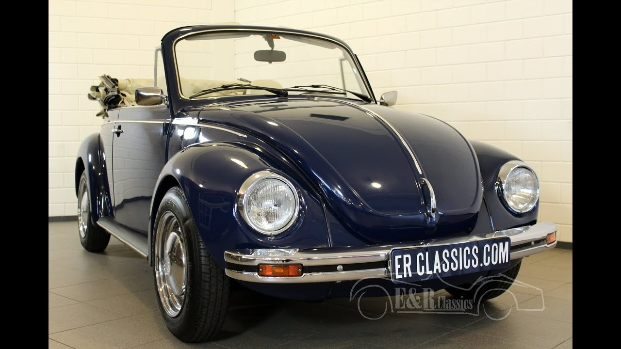 Innenausstattung New Beetle Volkswagen Beetle Convertible 1303 Dark Blue In Fabulous Condition Video Erclassics