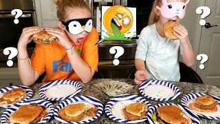 Guess The Fast Food Challenge! Blindfolded Taste Test!