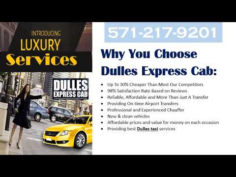Book Online Washington Dulles Airport Taxi Service