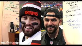 I met Baker Mayfield at the Super Bowl! (FAKER MAYFIELD)