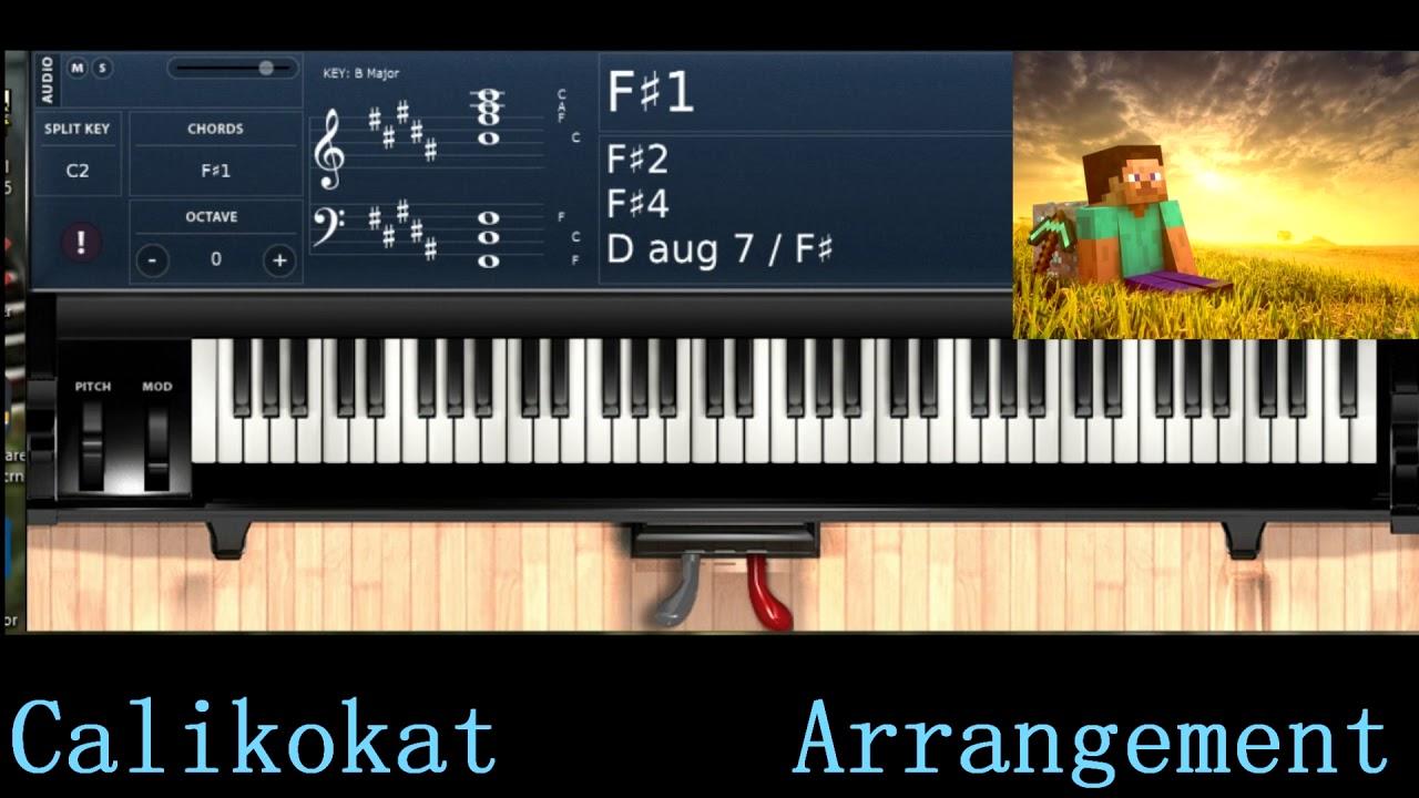 Calm 1 - Minecraft - Piano