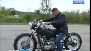 Иркутянин перебрал по болтикам еле живой мотоцикл и превратил в зверя «Урал» Bobber