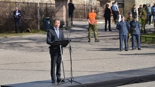 NATO Secretary General - Speech at the national monument at Akershus Fortress in Oslo.