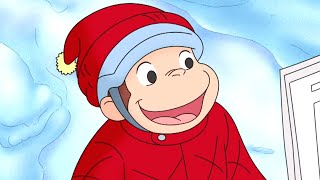 Curious George 🐵Curious George Gets Winded 🐵 Kids Cartoon 🐵 Kids Movies 🐵Videos for Kids