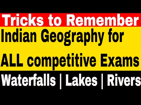 Tricks to Remember Waterfalls of india & the World | Highest & Tallest