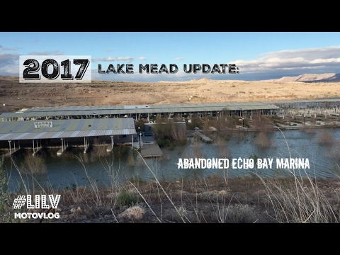 2017 Lake Mead Update - Abandoned Marina - MotoVlog 003