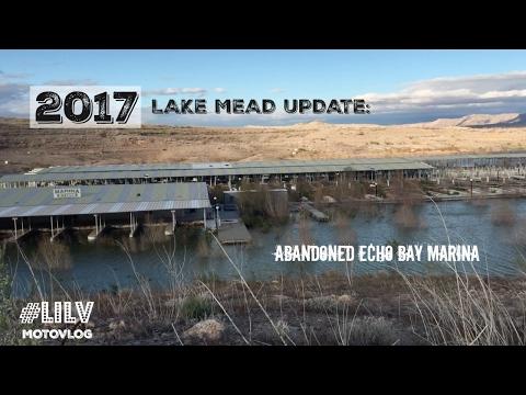 2017 Lake Mead Update - Abandoned Marina - MotoVlog 003