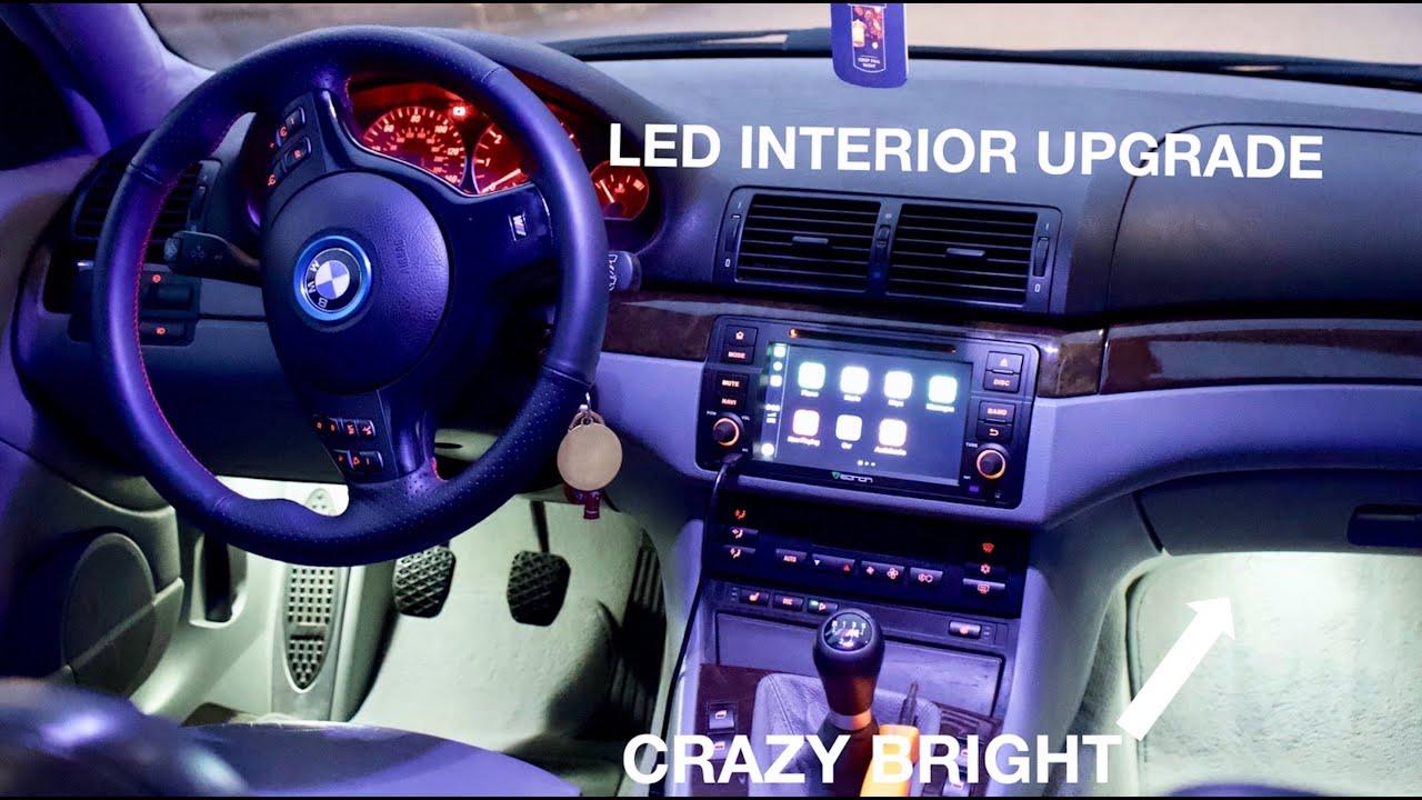 Bmw E46 Interior Led Install Review Bimland Performance