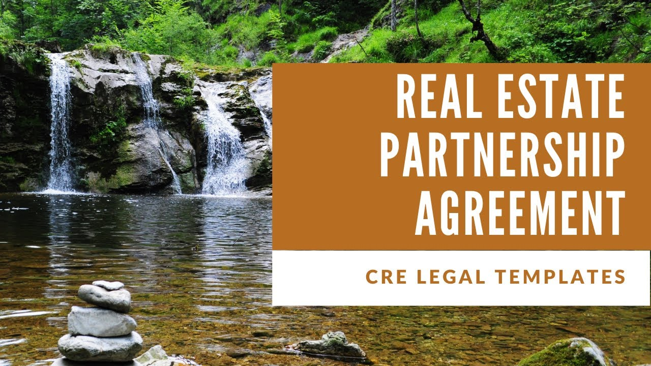 This joint venture agreement will allow the parties to enter the following information: Forming A Real Estate Joint Venture Partnership What To Know Jv Partnership Agreement Template Youtube