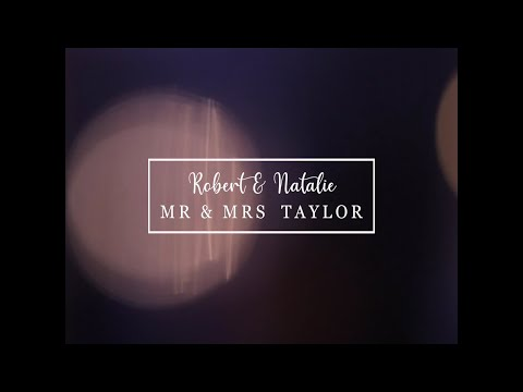 Robert & Natalie Teaser Trailer