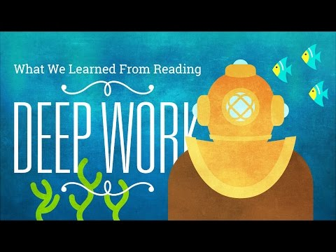 "8 Productivity Lessons from ""Deep Work"" by Cal Newport"