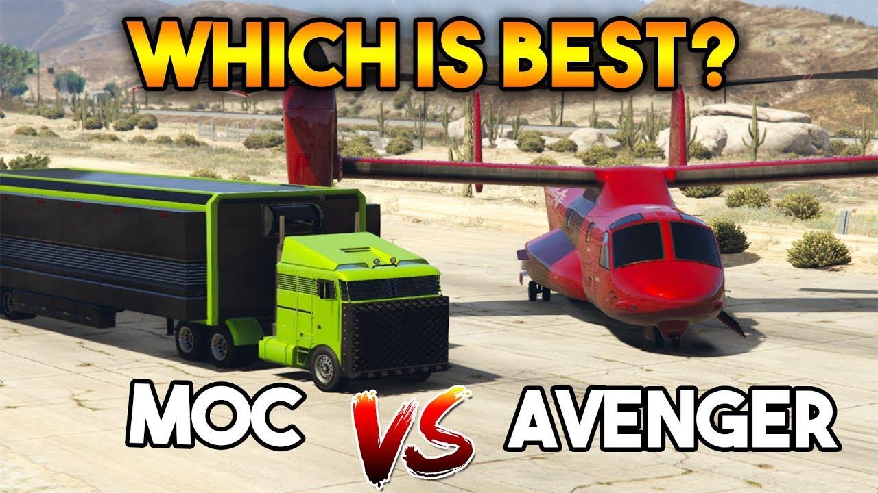 Gta  Online Avenger Vs Moc Which Is The Best Operation Center For Money