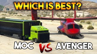 GTA 5 ONLINE : AVENGER VS MOC ( WHICH IS THE BEST OPERATION CENTER FOR MONEY ? )