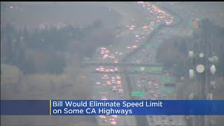 Bill Would Eliminate Speed Limit On Some CA Highways