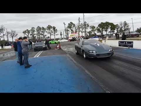 F1 Procharged LS7 Camaro on Alcohol Test pass Bradenton Fl
