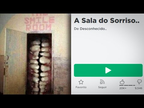 A SALA DO SORRISO NO ROBLOX..😨