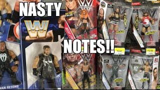 WWE TOY HUNT FREAKOUT! FAT GUY LEAVES NASTY NOTES FOR STORE EMPLOYEES!
