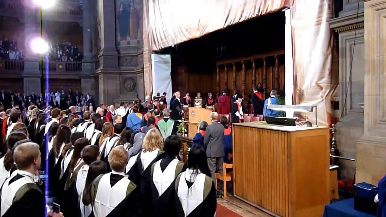 University of edinburgh graduation