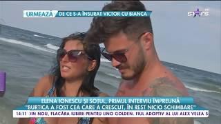 Elena Ionescu si sotul ei, primul interviu impreuna