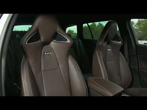 Opel Insignia GSi Sports Tourer Interior Design