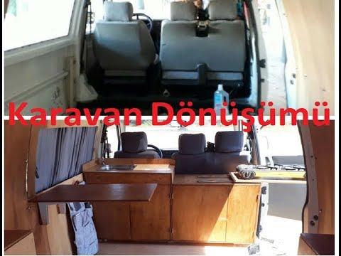 2300TL ye Karavan Yapmak Transporter T4 Karavan Projesi