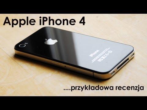 [Recenzja] Apple iPhone 4 - przykładowo wykonana recenzja sprzętu /05.10.2012