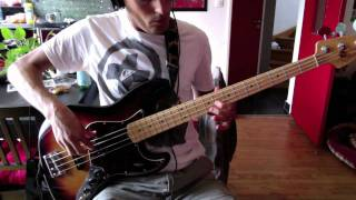 RHCP - Look Around - Bass Cover