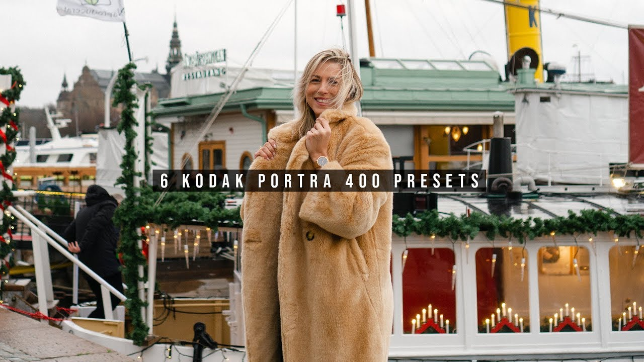 Lightroom Preset Kodak Portra 400 | Film Look Preset Pack