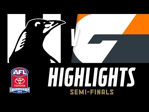 Collingwood V GWS Highlights | Semi Final, 2018 | AFL