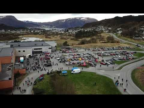 Vårmønstring i Fosnavåg Drone shoots only