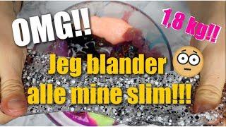 Jeg blander alt min slim #3 // SÅ MEGET SLIM!!!