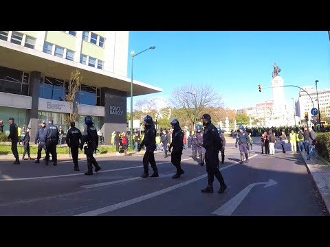 Yellow Vests Protests in Lisbon