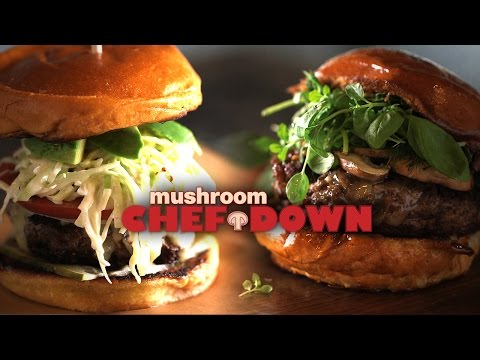Crimini + Burgers Cook-Off at The Upper West -  Mushroom Chef Down!