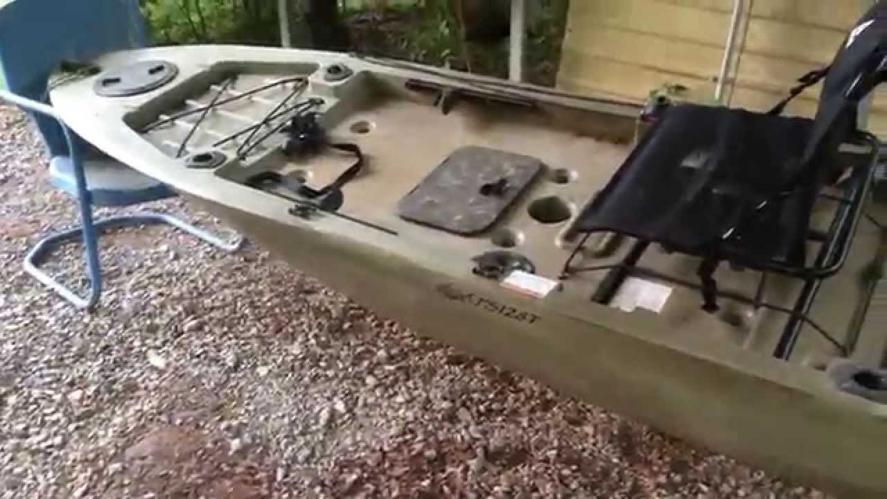 My Ascend Fs128t Sit On Top Kayak Youtube